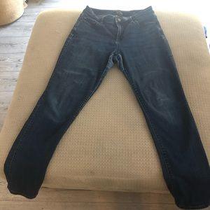 Ann Taylor jeans Size: Curvy 8